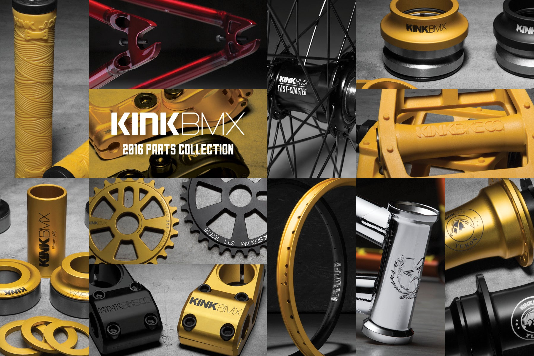 We now are a official KINK BMX and Mission bikes and parts Dealer