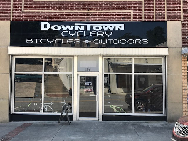 New Expanded Bike Shop To Better Serve You The Customer.