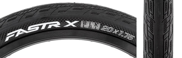 Tioga Fastr-X Black Label Folding Tire - 20x1.75""