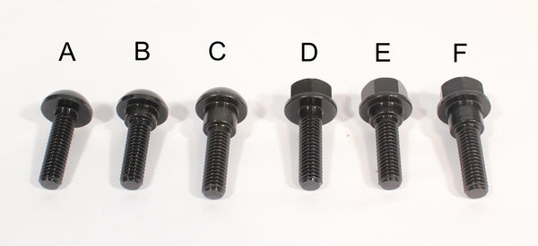 Profile Hub Bolt (Differant Types)