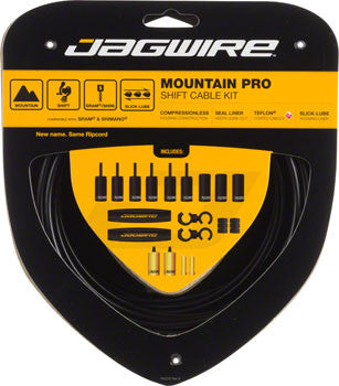Jagwire Mountain Pro Shift Cable Kit, Black