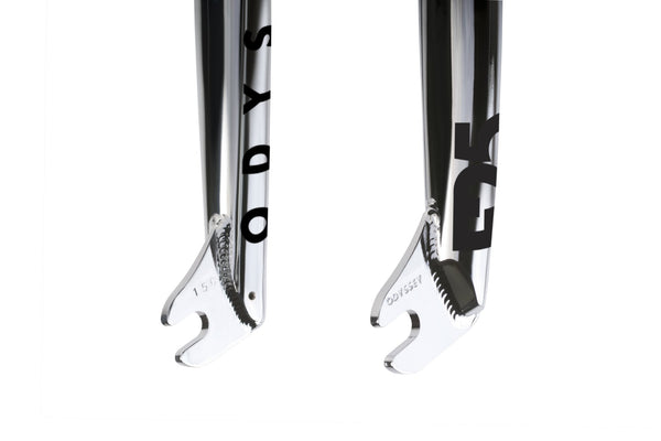 Odyssey F25 Forks (Rust Proof Black or Chrome)