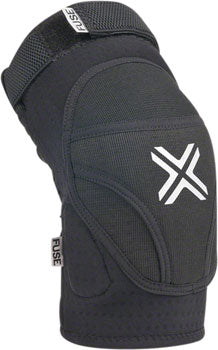 Fuse Protection Alpha Knee Pad: Black MD, Pair