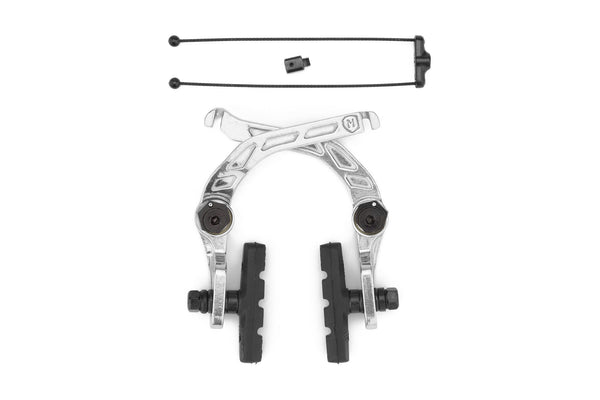Mission Cease V2 Brakes - (Black And Silver)