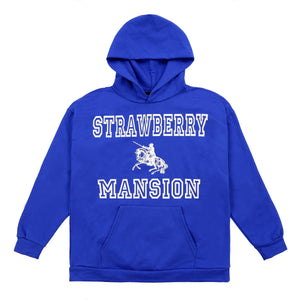 Strawberry Mansion Hoodie (Blue)