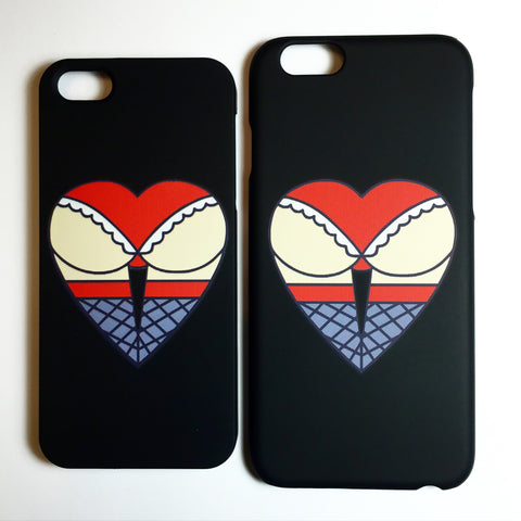 Butt Heart iPhone Case