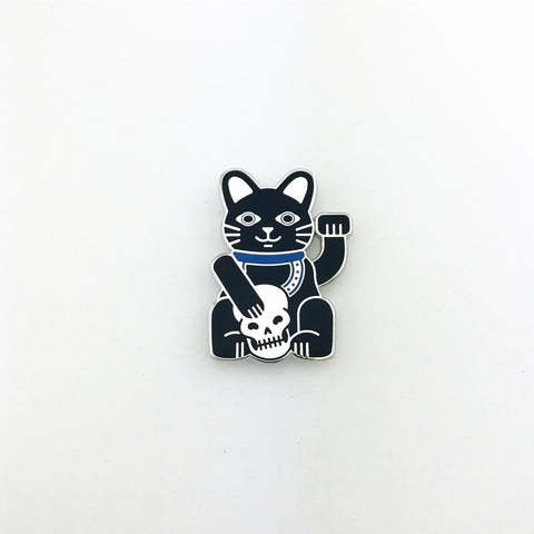 Maneki-neko Lapel Pin