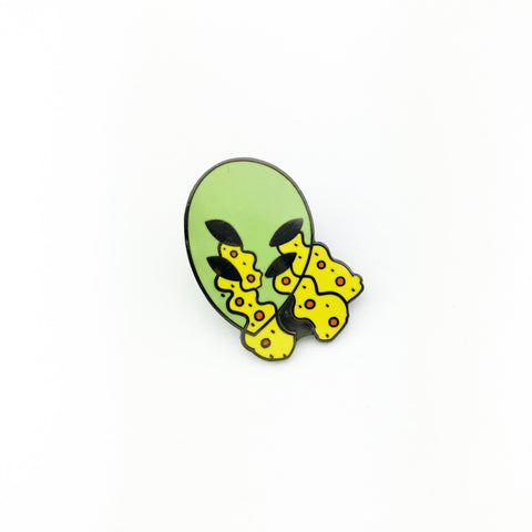 Alien Eyes Lapel Pin