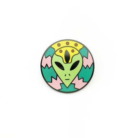 Alien Third Eye Lapel Pin