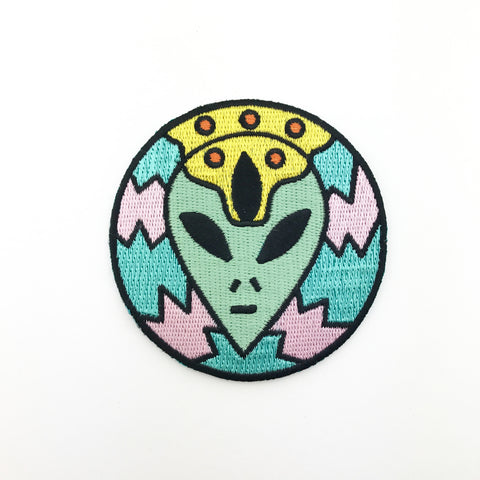 Alien Third Eye Patch