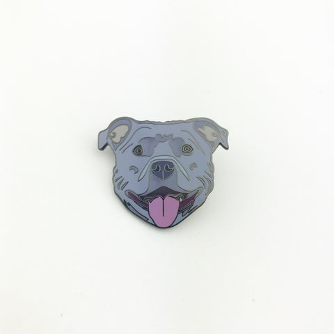 Blue Bully Lapel Pin