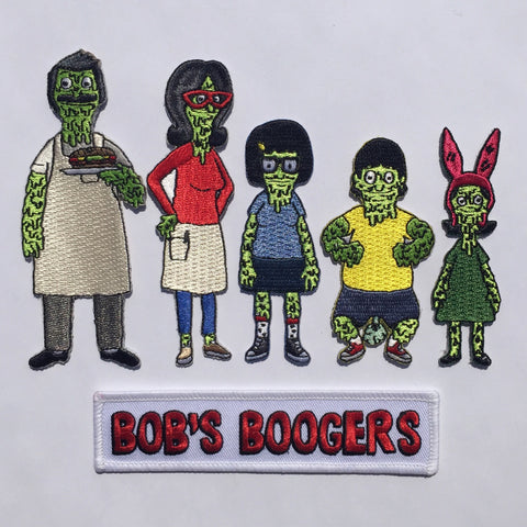 Boogie Family Patch Pack