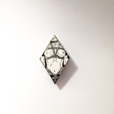 Bound Lapel Pin