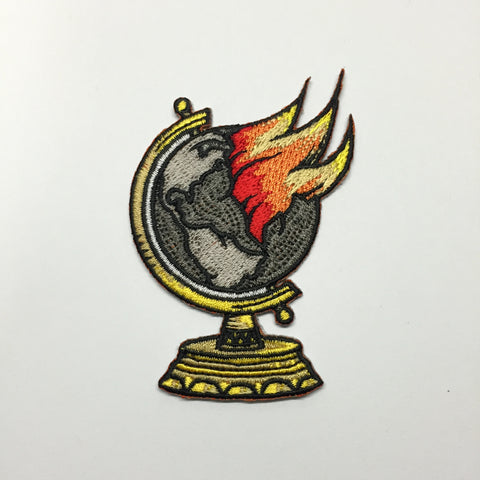 Burning Globe Patch