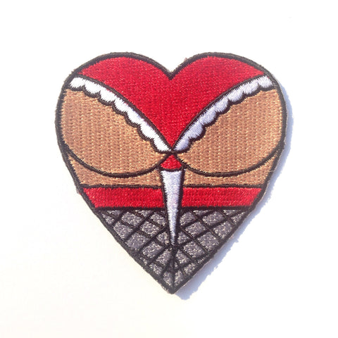 Butt Heart Patch