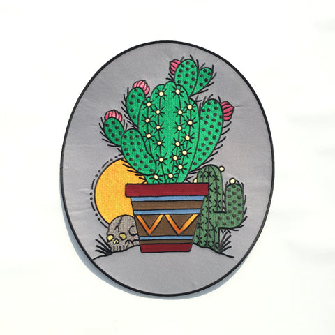 Cactus Back Patch