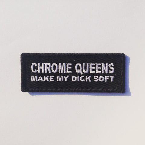 Chrome Queens Patch