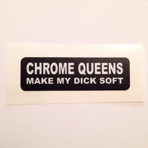 Chrome Queens Sticker
