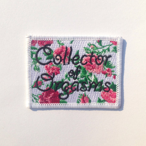 Collector of Orgasms Patch