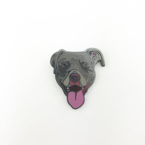 Dark Bully Lapel Pin