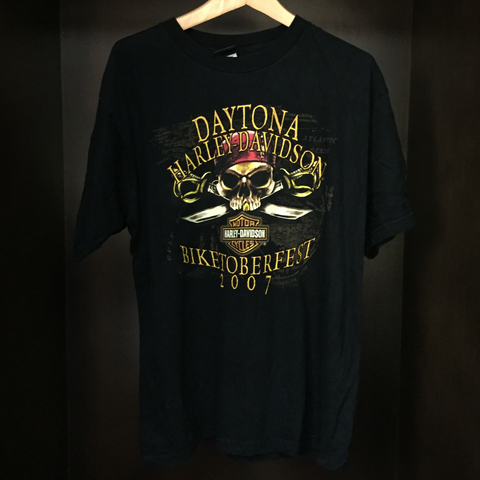 XL HD Daytona Vintage Tee