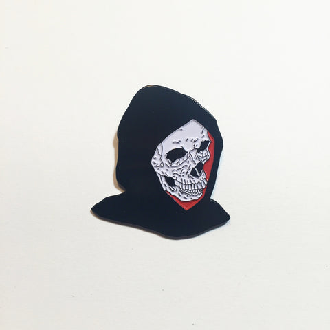Death Awaits Lapel Pin