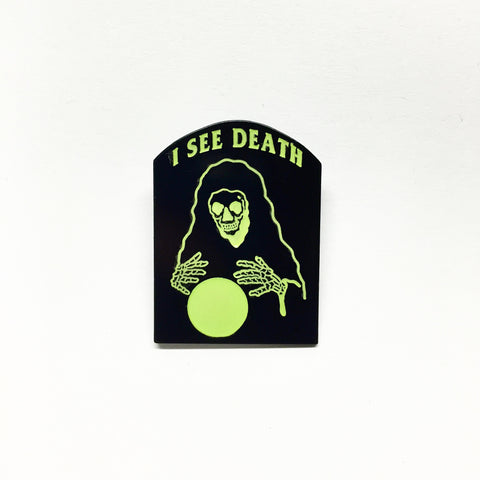 Death Seer Lapel Pin