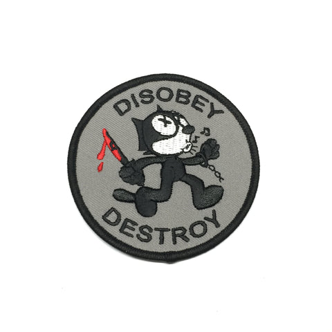 Disobey & Destroy Patch