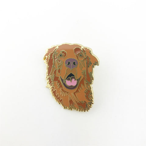 Golden Retriever Lapel Pin