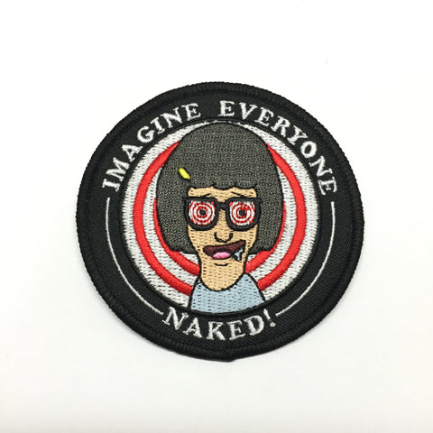 Imagine Everyone Naked Patch