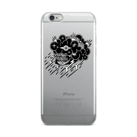 Black Cloud iPhone Case