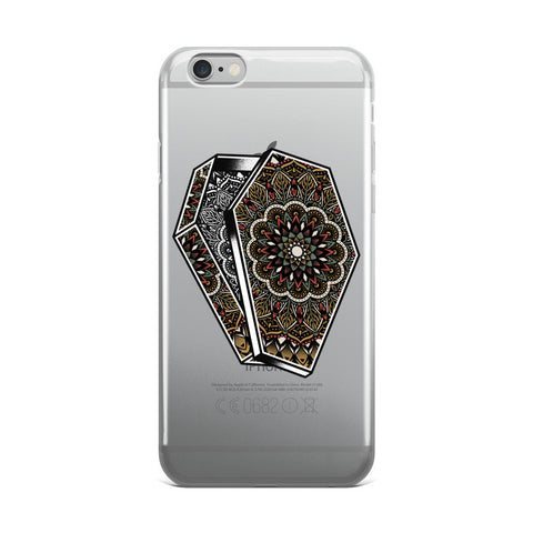Mandala Coffin iPhone 5/5s/Se, 6/6s, 6/6s Plus Case