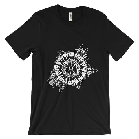 Mandala Flower T-Shirt Dark