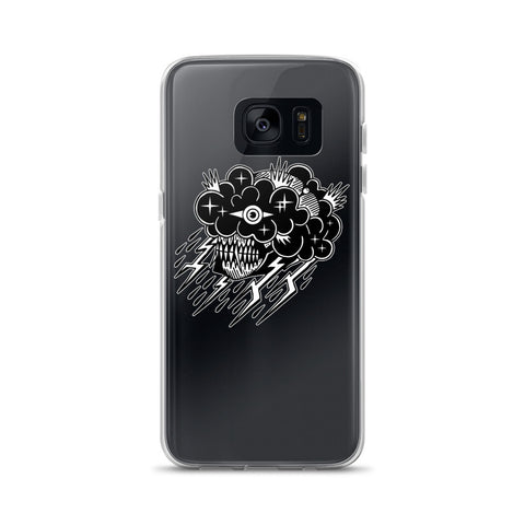 Black Cloud Samsung Case