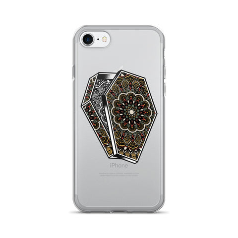 Mandala Coffin iPhone 7/7 Plus Case