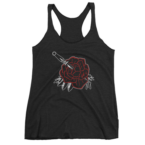 Dagger Flower Women's Tank Top