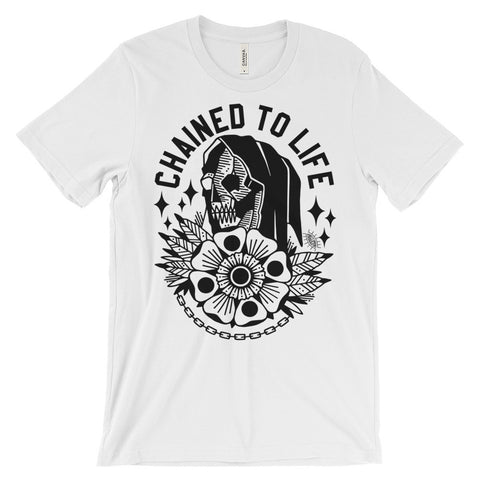 Chained to Life T-Shirt Light
