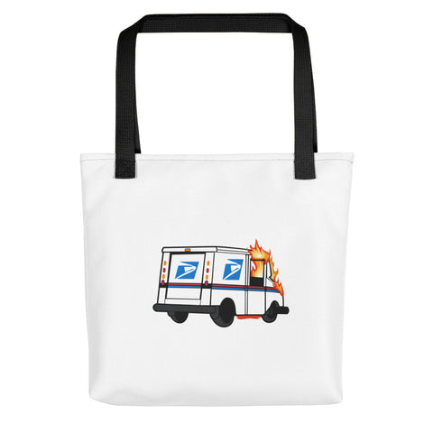 Fuck The Post Tote Bag