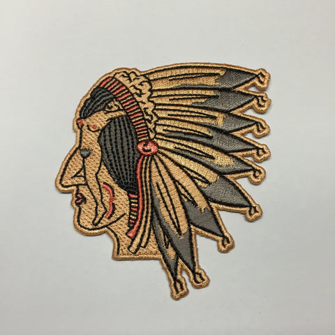 Native Head Patch