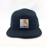 No Heartt Camping Hat Black