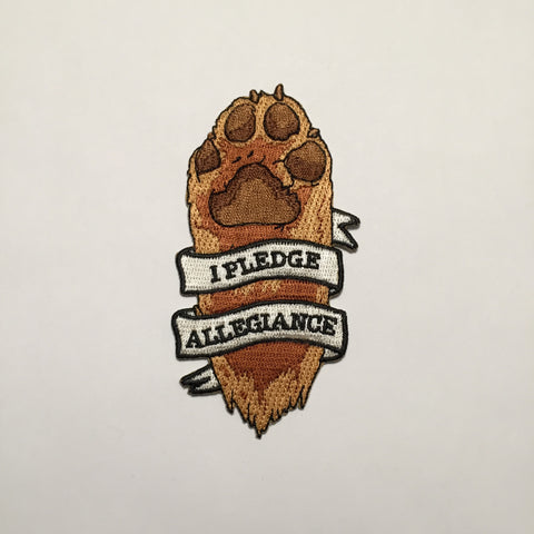 Paw Pledge Patch