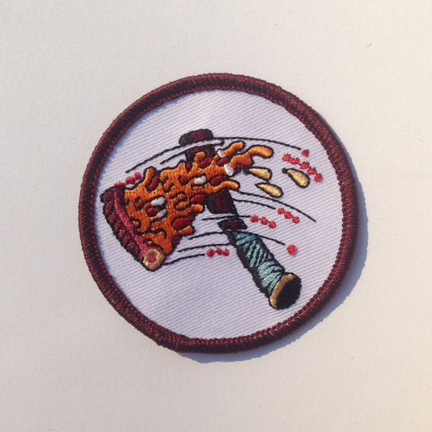 Pizza Hatchet Patch
