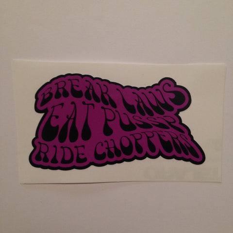 Ride Choppers Sticker