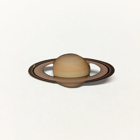 Saturn Lapel Pin