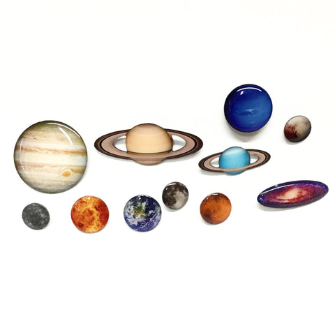 Space Lapel Pin Set