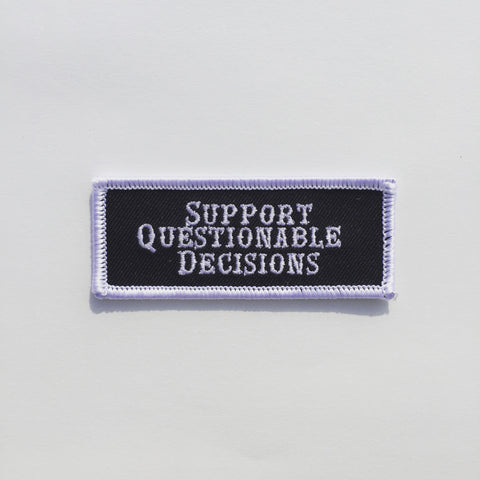 Support Questionable Decisions Patch