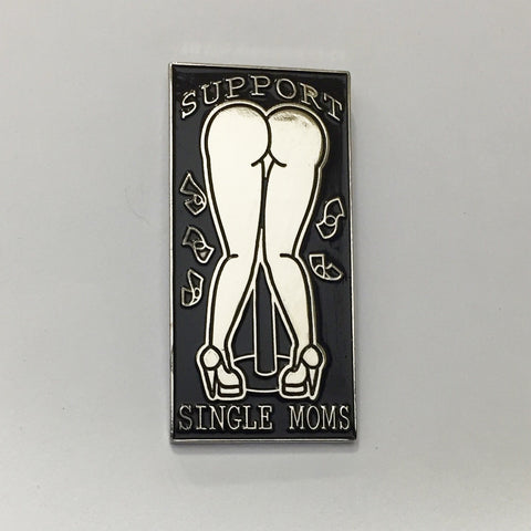 Support Single Moms Lapel Pin