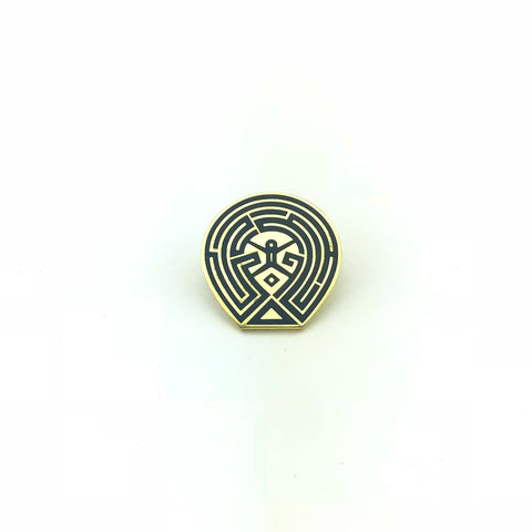 The Maze Lapel Pin