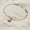 10k Gold Seashell Anklet