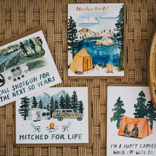 Adventure Awaits Greeting Card Greeting Card Little Truths Studio